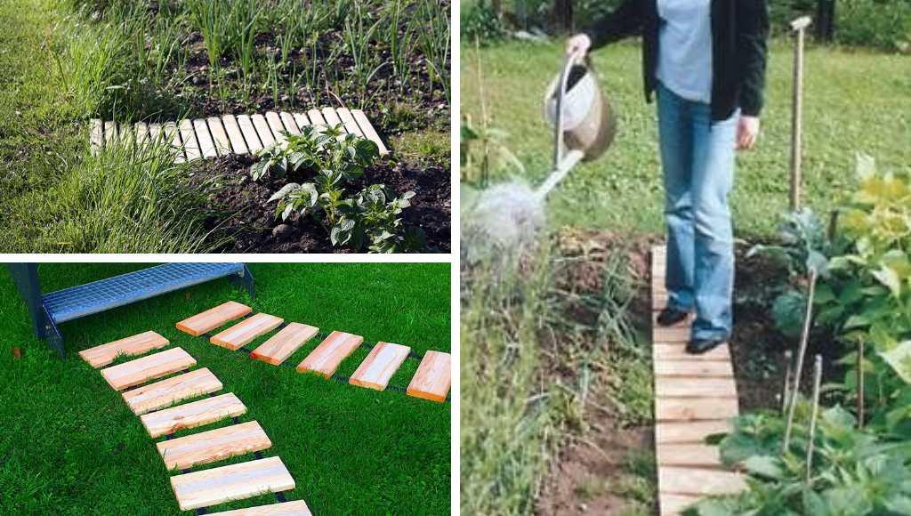 Rollbare Gartenwege Varianten