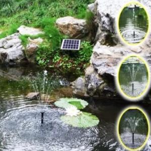 Teichpumpe mit Solarbetrieb