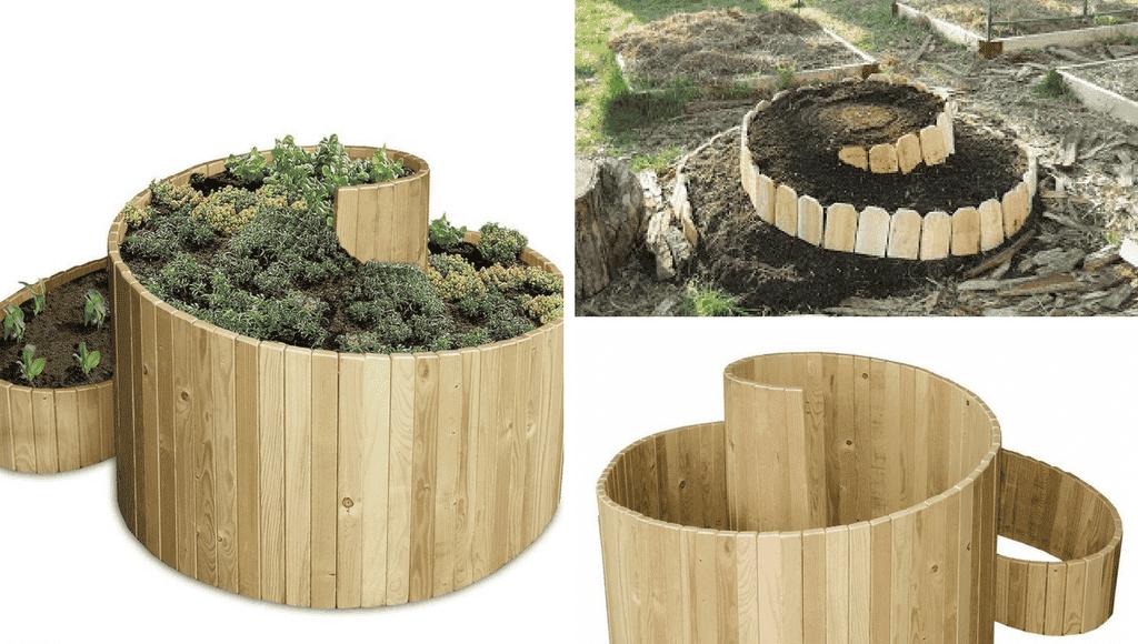 anleitung f r das anlegen und bepflanzen einer kr uterspirale. Black Bedroom Furniture Sets. Home Design Ideas