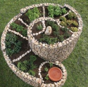 anleitung f r das anlegen und bepflanzen einer kr uterspiralegarten pflanzen. Black Bedroom Furniture Sets. Home Design Ideas