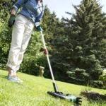 Rasenkantenschneider erleichtert die Arbeit