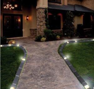 Beetbegrenzung mit Licht