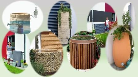 regenwasser auffangen und sammeln garten pflanzen. Black Bedroom Furniture Sets. Home Design Ideas