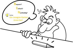 Lasagne-Idee