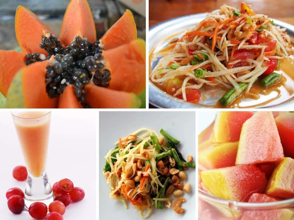 Papaya Verwendung