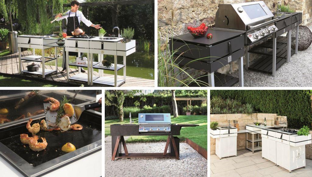 Outdoorküche Edelstahl Unterschied : Outdoorküche immobil mobil und modular