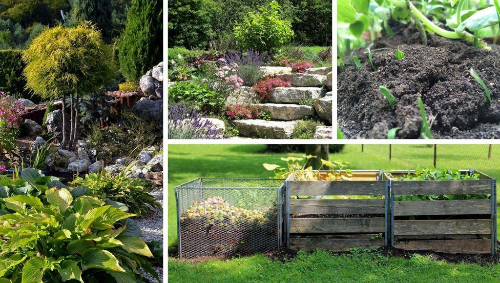 Steingarten Und Kompost