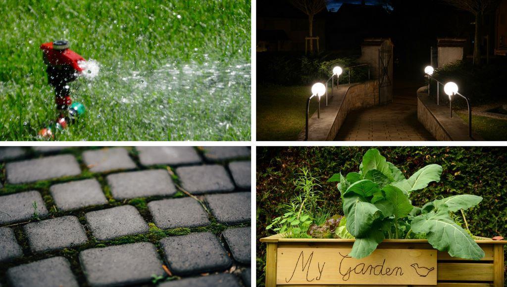 Garten ohne Barriere